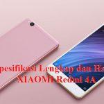 Spesifikasi dan Harga Xiaomi Redmi 4A Terbaru 2019