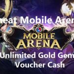 Cara Cheat Mobile Arena MOD Apk Unlimited Gems Gold dan Voucher Cash