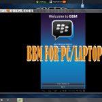 Cara Install dan Download BBM For PC dengan Mudah