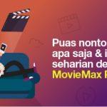Begini, Cara Menggunakan Kuota MovieMax 3 (Three )