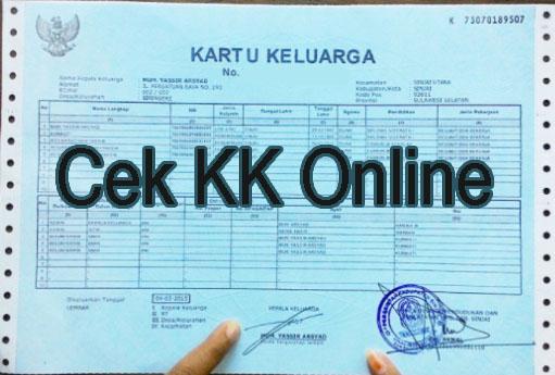 Cara Cek Nomor Kartu Keluarga Online Jakarta - Berbagi ...