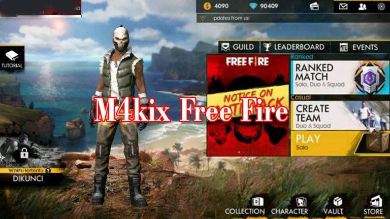 m4kix free fire