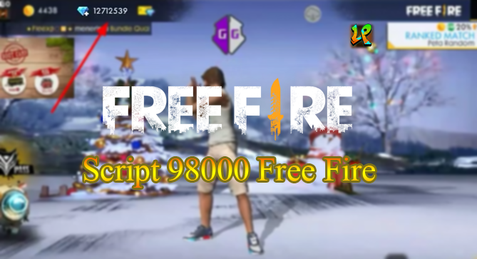 script 98000 diamond free fire