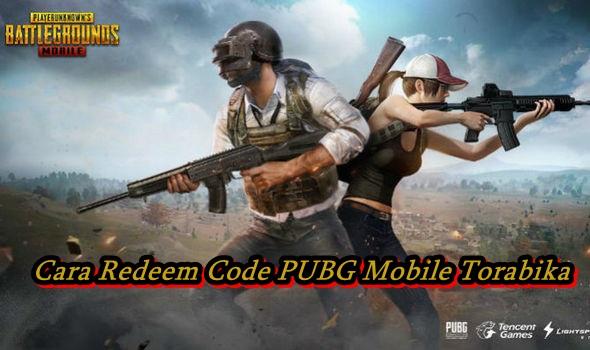 Cara Redeem Code PUBG Mobile Torabika 1