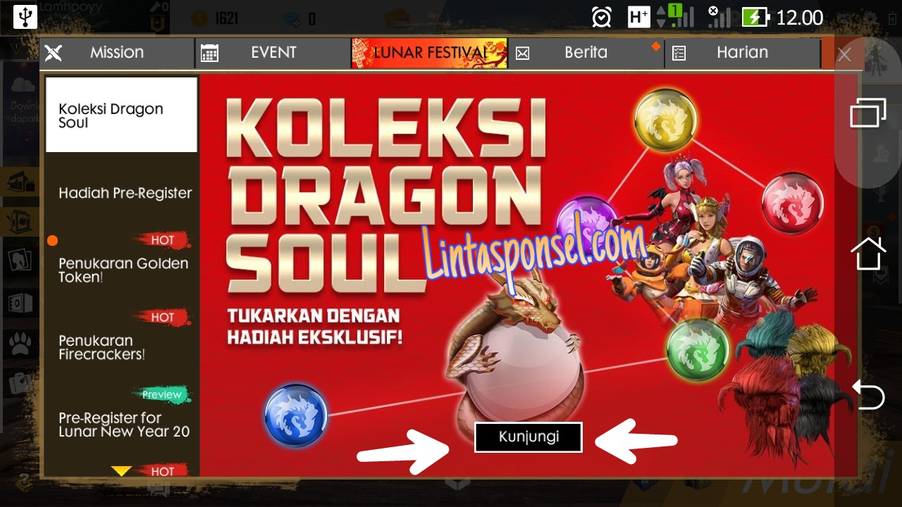 dragon soul free fire