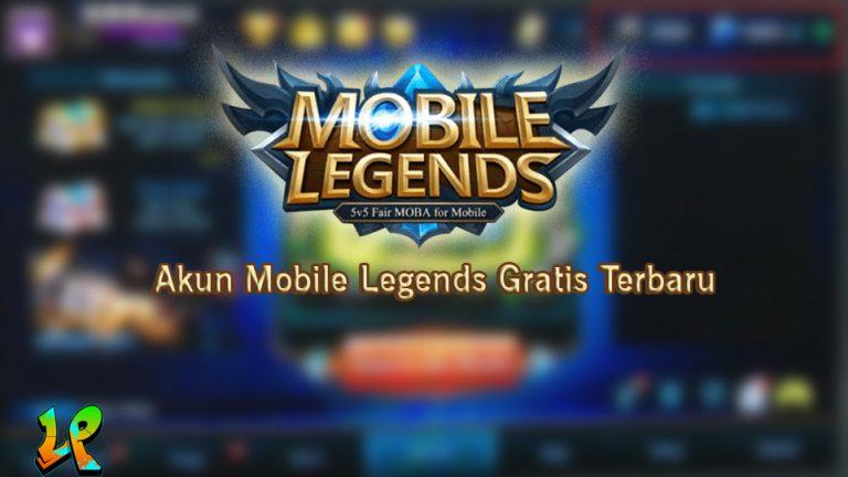 akun mobile legends gratis terbaru