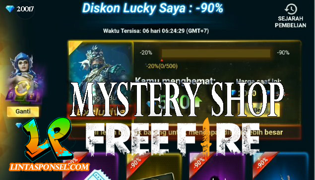 Free Fire Mystery Shop 2019