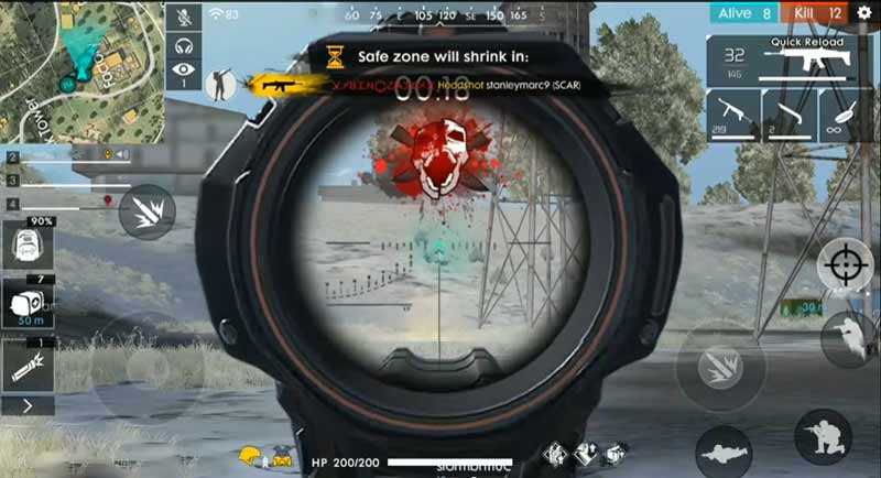 Settingan Free Fire Auto Headshot