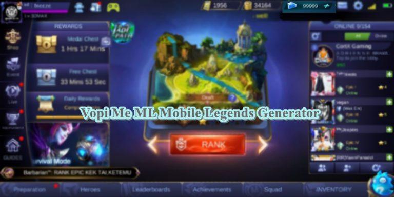Vopi Me ML Mobile Legends