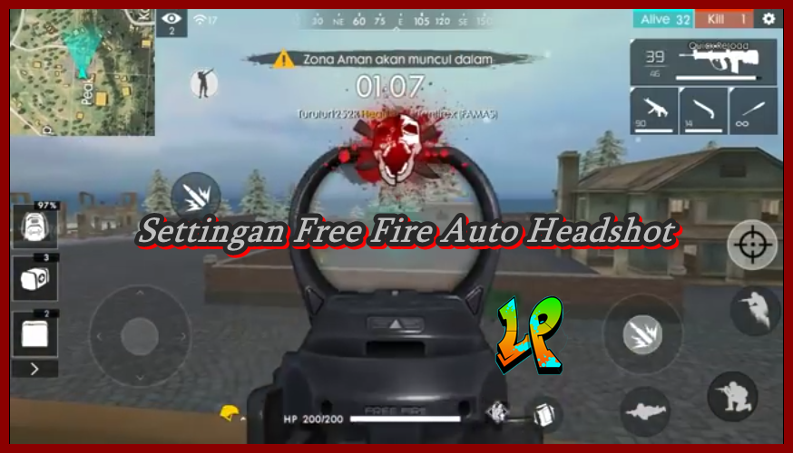 settingan auto headshot free fire