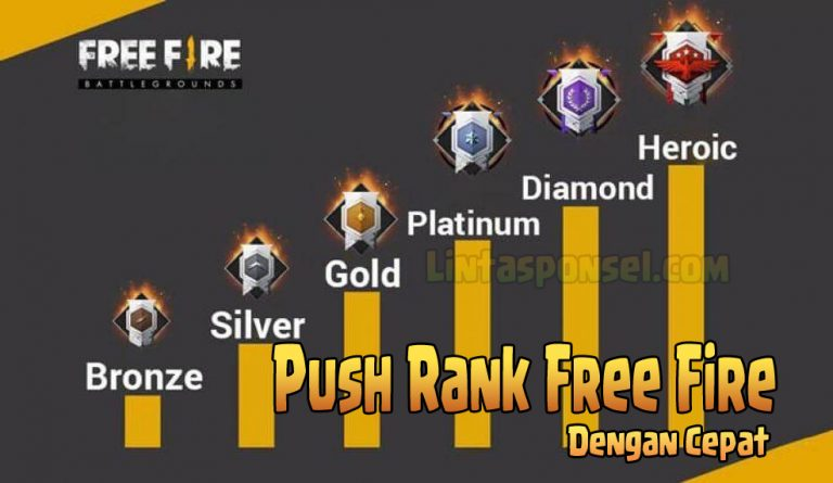 Cara Push Rank Free Fire