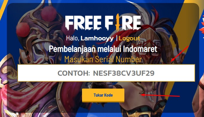 Event Chiz King Free Fire