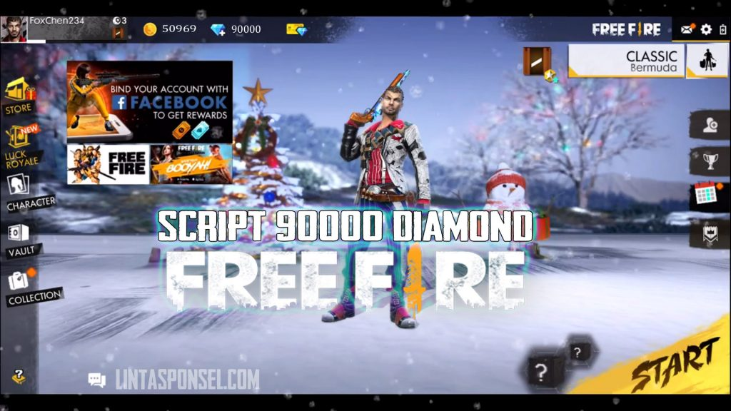 download Script 90000 Diamond Free Fire