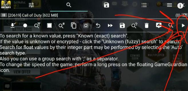 cara cheat call of duty mobile dengan game guardian tanpa root