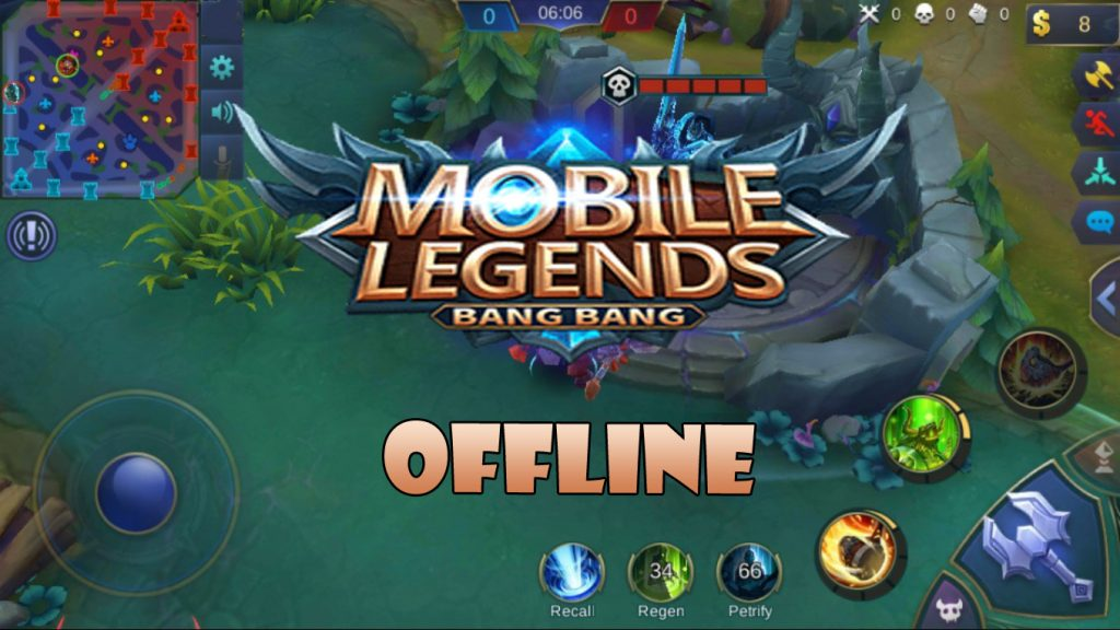 Download Mobile legends Offline mod apk