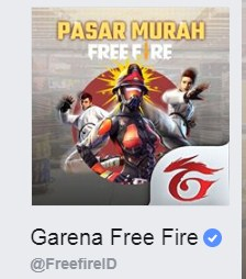 Fanspage Facebook Free Fire