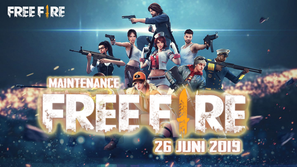 Maintenance Free Fire 26 Juni 2019
