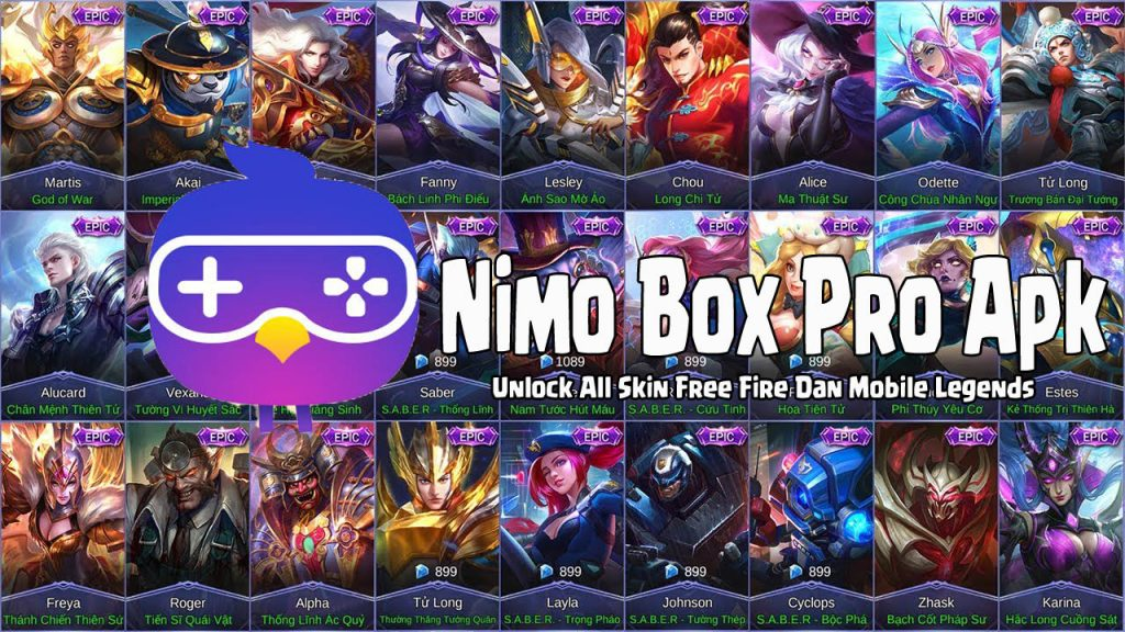 download Nimo Box Apk Free Fire