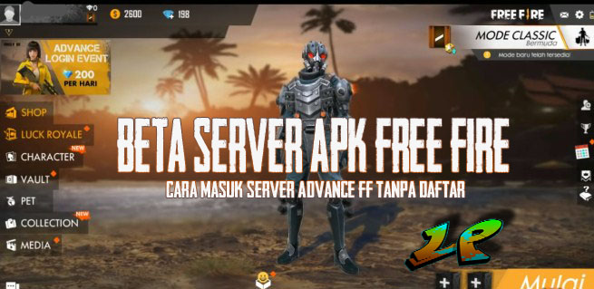 Beta Server Apk Free Fire Cara Masuk Server Advance FF Tanpa Daftar