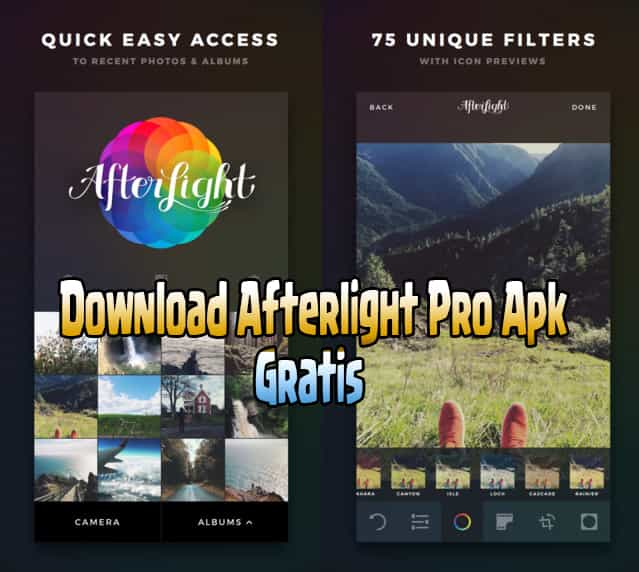 Cara Download Afterlight Pro Apk Gratis