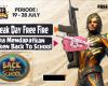 peak free fire dan cara mendapatkan token back to school