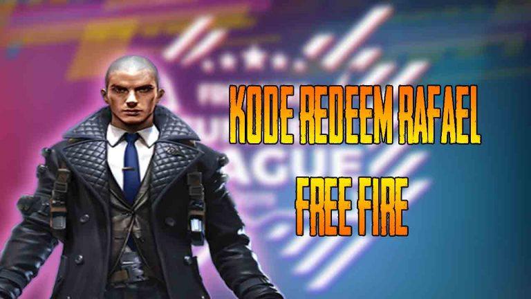 kode redeem rafael free fire
