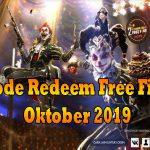 Kode Redeem FF Terbaru Oktober 2019 Yang Masih Aktif