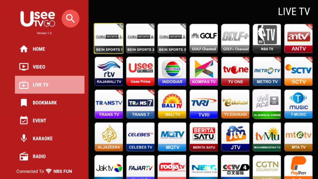 Aplikasi Nonton Tv Offline UseeTV GO