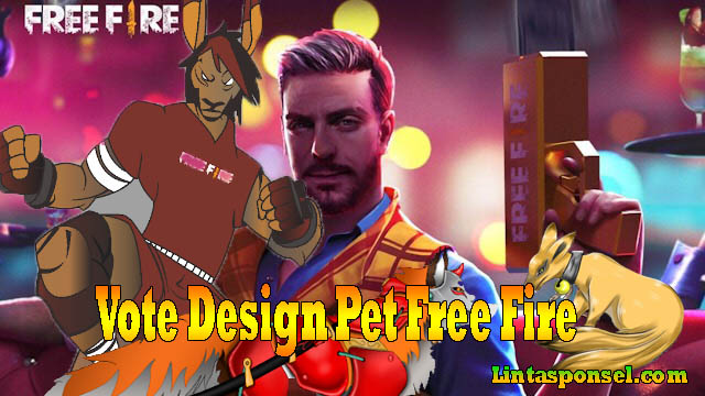 vote design pet free fire