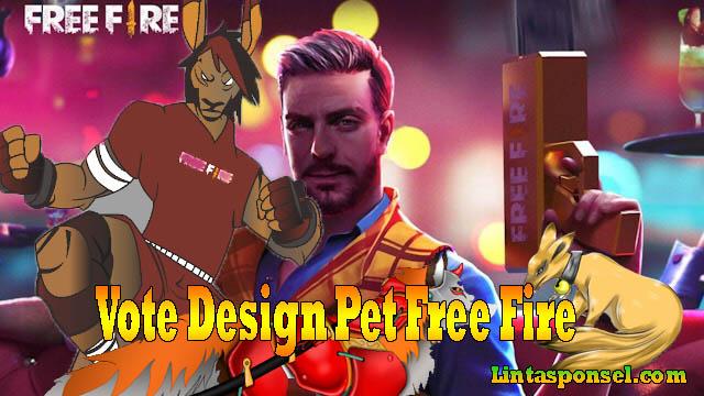 vote design pet free fire