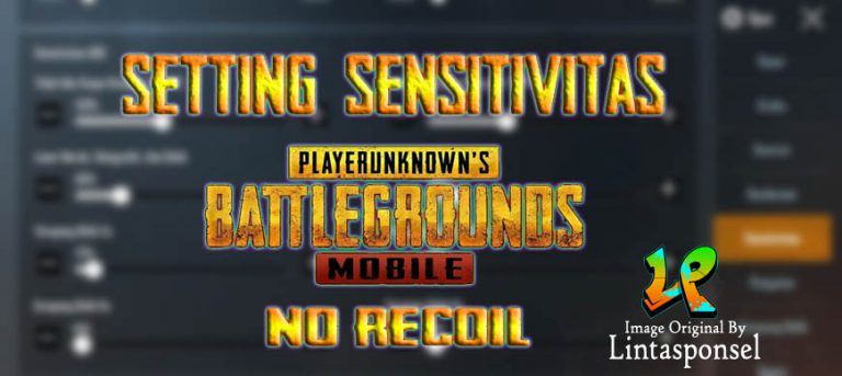 settingan sensitivitas pubg mobile no recoil