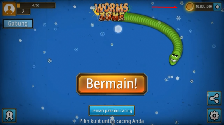 download worms zone mod apk